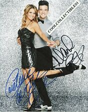 """CANDACE CAMERON BURE & MARK BALLAS """"DWTS"""" IN PERSON SIGNED 8X10 COLOR PHOTO"""