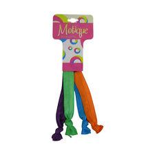 Hair Ties Green, Orange, Purple, Blue Girls Ponytail Braclets Elastic Hair Ties