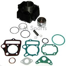 Cylinder Piston Kit w Rings Motor For Honda ATC70 TRX70 4 Wheeler ATV Quad 70cc