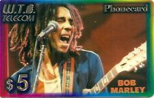 RARE / CARTE TELEPHONIQUE PREPAYEE - BOB MARLEY / PHONECARD LIMITED EDITION