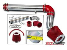 "3"" RED Cold Air Intake Kit + Filter For 05-09 Magnum/Charger/05-10 300 2.7L V6"