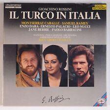 ROSSINI: IL TURCO In ITALIA rare FONIT CETRA Sealed OPERA Box LP Caballe