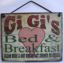 Gi Gi Gigi s Sign Bed and Breakfast Mother s Day House & Guest Welcome Country