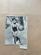 H1-1 ephemera 1967 picture joyce nizarri actress plays handball california