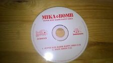CD Indie Mike Bomb - Super Sexy Razar Happy Girls (2 Song) GRAND ROYAL disc only