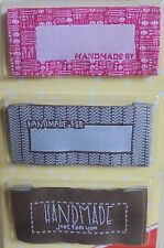 QUILT TAGS/CRAFT LABELS - 3 ASSORTED DESIGNS FOR THAT FINISHING TOUCH ER992