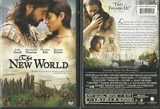THE NEW WORLD COLIN FARRELL CHRISTIAN BALE (2006) DVD RARE OOP