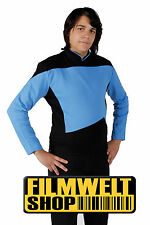STAR TREK Uniform TNG - blau - deluxe - NEU ovp  M