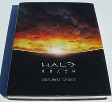 360 Halo Reach Legendary Edition Strategy Player's Guide Book Hint Defeat Aliens