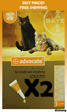 Advocate For Cats Up To 4kg Small Cats 6 Pack Flea and Lice Treatment