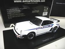 1:18 Autoart Porsche 911 930 turbo 3.0 1976 White blanco nuevo New