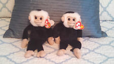 'Mooch' the Spider Monkey Ty Beanie Baby - MINT - RETIRED Lot, 2 Each