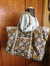 New Handmade Quilted Carry On Weekend Bag by Bdickes Compare to Vera Bradley