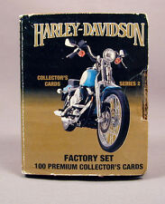 Harley Davidson 100 Collector Cards Series 2 Factory Set 1992 Free Shipping