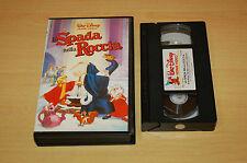 LA SPADA NELLA ROCCIA  VHS ORIGINALE WALT DISNEY VS 4158  ottima +++