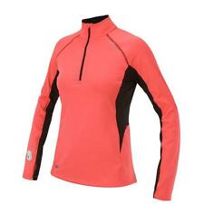 Saucony Women's Drylete Fitted Sport Top - Vizipro Coral/Black sz XS  3221