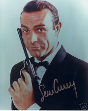 SEAN CONNERY - JAMES BOND AUTOGRAPH SIGNED PP PHOTO POSTER