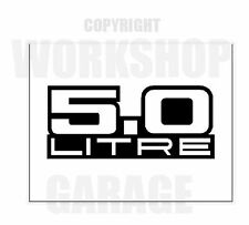 HOLDEN 5.0 LITRE XX Large Decal  - Sticker