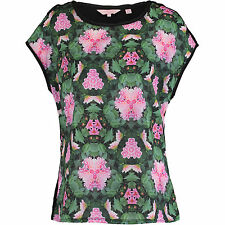 BNWT Ted Baker Natural Kingdom Geo Tee TOP Size RRP: £49 UK size 6-8