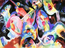 WASSILY KANDINSKY russo ASTRATTO Old Master ARTE PITTURA STAMPA POSTER 3045omlv