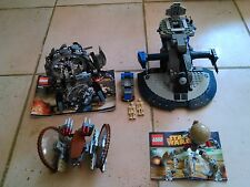 Lot Set lego star wars separatiste 75036 75040 + vehicule