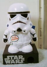 STAR WARS Disney STORMTROOPER TALKING CANDY DISPENSER (No candy but refillable)