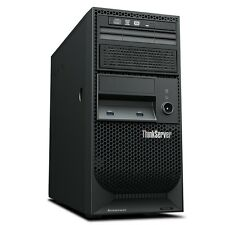 Lenovo ThinkServer TS140 70A4003AUX 4U Tower Server Intel Xeon E3-1226 v3 3.3Ghz