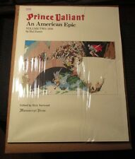 1984 PRINCE VALIANT An American Epic 2 SC NM- 17x22 Hal Foster Manuscript Press