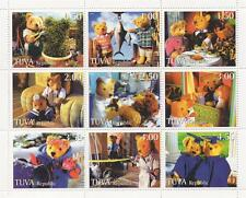 TEDDY BEAR FLUFFY TOY VARIOUS ACTIVITIES 1998 MNH STAMP SHEETLET