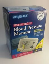 Life Source UA-767PV DELUXE One Step Blood Pressure Monitor MEDIUM CUFF SIZE!