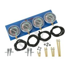 Universal 4-Carb Carburetor Synchronizer Set kit For Motorcycle available New
