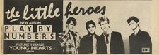 19/2/83PN07 ADVERT 4X11 THE LITTLE HEROES ALBUM PLAY BY NUMBERS