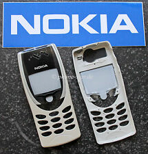 Original Nokia 8210 a-cover carcasa Ober cáscara housing fascia frontal Assy White