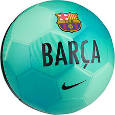 Nike FC Barcelona Pitch SE 2016 - 2017 Soccer Ball Brand New Teal Green Size 4