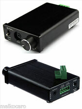 amplificatore digitale 2x 50W SMSL MINI 5 amplifier stereo TDA7492 uscita cuffia