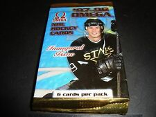 Hockey Card Packs 1997-98 Pacific Omega QTY 2 Unopened Pack Lot Mint Condition