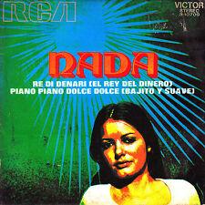 """7"""" promo NADA re di denari / el rey del dinero SPANISH rare 1972 piano dolce"""