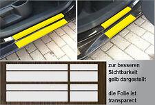 Lackschutzfolie transparent Einstiege Türen für Skoda Octavia 2, 2009 - 2013