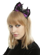 Disney Sleeping Beauty Maleficent Bow Headband Cosplay Halloween New With Tags!