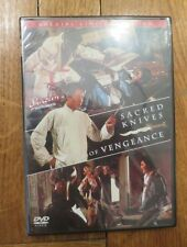 SACRED KNIVES OF VENGEANCE DVD SEALED THE KILLER RARE OUT OF PRINT shaw brothers