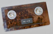 Org BMW 5er E60 E61 LCI Holzleiste Leiste Blende hinten Holz Pappel Maser dunkel