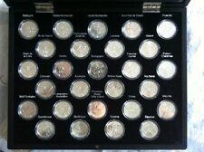 I EURO DEGLI REGIONI 2010 - 27 Pezzi da in argento incapsulato in Cofanetto