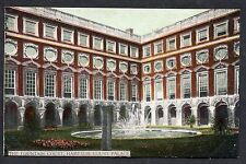 C1920's View of a Fountain Court, Hampton Court Palace