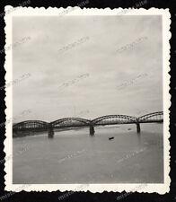 Foto-Brücke über die Weichsel-Polen-Warschau-Wehrmacht-2.wk