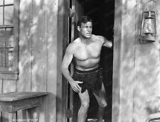 8x10 Print Buster Crabbe King of  the Congo 1952 #5502482