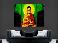 Cartel De Buda Religión Arte Pared impresión de imágenes de gran tamaño imagen gigante Budda