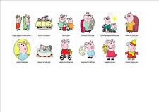 PEPPER PIG  Embroidery Designs on CD IN PES/HUS/JEF/VP3 & DST