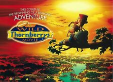 """The Wild Thornberry Movie poster Nickelodeon poster -  12"""" x 16"""""""