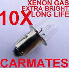 10 worklight Torch Bulb 18V for Hitachi Ryobi Mikita RIDGE BOSCH AEG XENON Gas