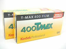 10x KODAK TMAX 400 120 ROLL CHEAP BLACK & WHITE FILM By 1st CLASS ROYAL MAIL